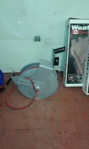 wall or ceiling mounted air hose reels