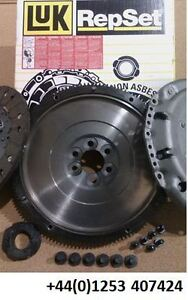 VW TRANSPORTER T5 1.9 TDI SMF FLYWHEEL & LUK CLUTCH KIT 03-