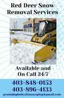 Red Deer Snow Removal Services