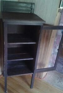 Antique Pharmacy Display Cabinet All Original