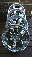 4 MAGs American Racing 17x7.5 / 5x4.5(108) / offset:+40