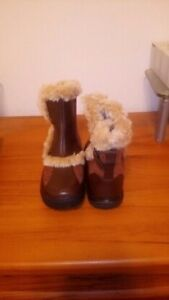 Women's Ankle Fur Winter Boots, Size 7