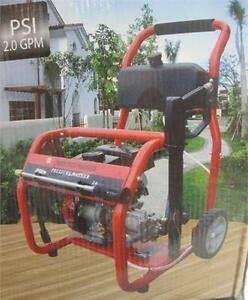 NEW* POWER PLUS PRESSURE WASHER 2000 PSI - 2.0 GPM GAS 107652155