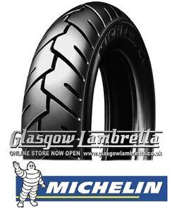 Set of 2 MICHELIN S1 Scooter Tyres 350 x 10 for Vespa, Lambretta, LML etc