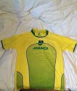 New Men's Jamaican Soccer Jersey #10