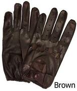 Mens Unlined Leather Gloves