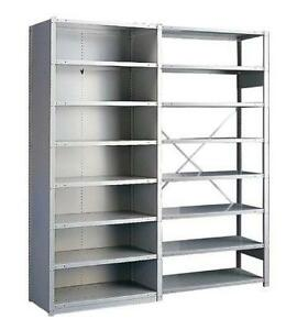Boltless Rousseau Steel Shelving - Classy and HD - 20 colors