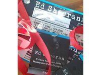 2 VIP Ed Sheeran Tickets Hampden
