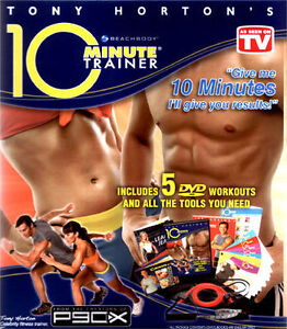Beach body 10 Minute Trainer from the creators of P90X