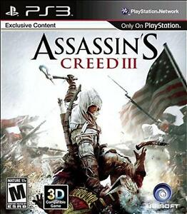 Trading PS3 Assassins Creed III For Games On Any System