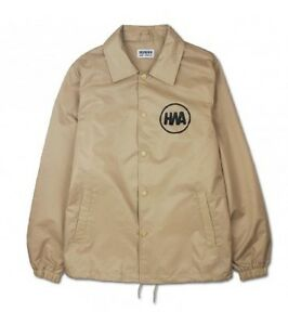 Coach Jacket Human With Attitude Beige