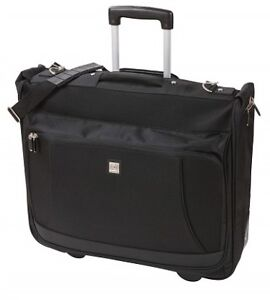 Carry-on underseat garment/computer bag;  and basic laptop bag