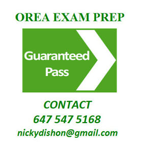 REAL ESTATE OREA EXAM PREPARATION