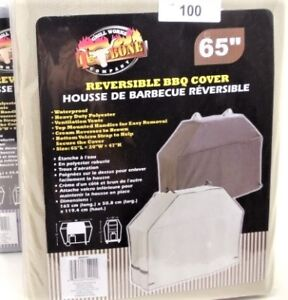 NEW GRILL WORKS T-BONE REVERSIBLE BBQ COVER 65""