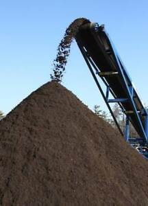 Rich Black Organic Topsoil and Compost
