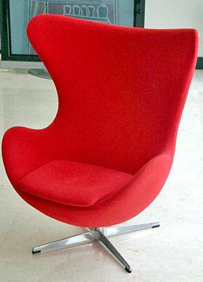 Der Egg Chair hat einen festen Platz im Herzen wahrer Designliebhaber. (Copyright: Scott Anderson)