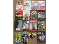 Joblot Bundle Collection of Comedy Action DVDs New Boxset Star Wars Seasons Family Guy The Simpsons
