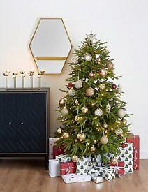 M&S FRASER FIR ARTIFICIAL CHRISTMAS TREE 6FT