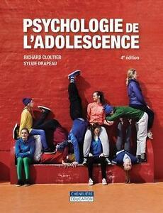 Psychologie de l'adolescence 4e edition Saguenay Saguenay-Lac-Saint-Jean image 1