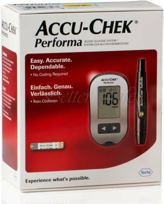 Accu-chek Perfoma Blood Glucose Meter Sugar Monitoring Syste