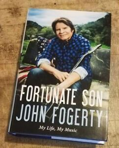 John Fogerty (CCR) - Fortune Son Memoir HardCover Book