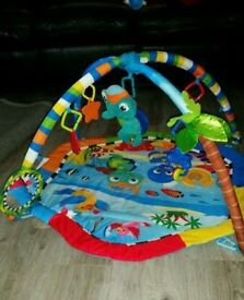 Under the sea baby play mat