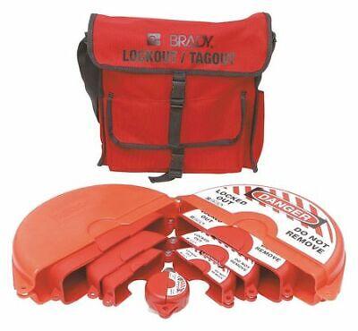Brady 99676 Portable Lockout Kit6filledvalve