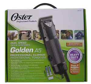 USED: Oster Dual Speed Golden A5 Professional Clipper