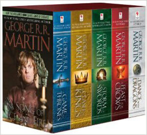 Game of Thrones: A song of ice and fire Boxed book set 5 books