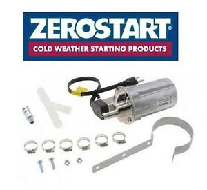 NEW ZEROSTART ENGINE HEATER - 107707698 - Details about  Zerostart 330-8001 Circulation Engine Heater