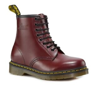 Dr Doc Martens 1460 Classic Smooth Leather 8 Eye Up Boots. Various Colours