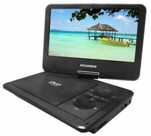 "Multi System 9"" Portable DVD Player with Swivel Screen for sale"
