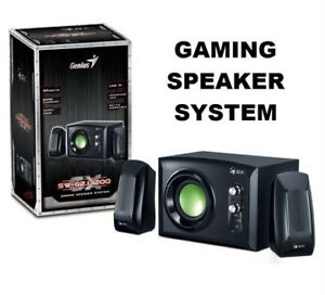 NEW GENIUS GAMING SPEAKER SYSTEM+