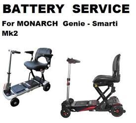 Monarch Genie Smarti Battery SERVICE Save £££££s