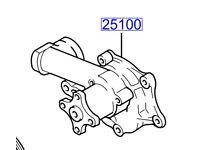 Hyundai Santa Fe Water Pump 2510038002