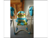 Fisher price swing , chair and rocker 3 in 1
