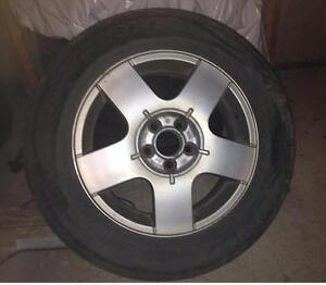 4 Roues,Mags pour Volkswagen Jetta ou Golf ,