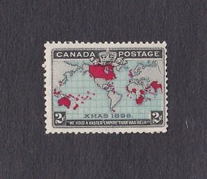 Ancien timbre neuf du Canada #86 Imperial Penny Postage