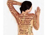 Trainee male massage Therapist