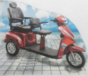 Scooter 2 places 2015 et son transporter