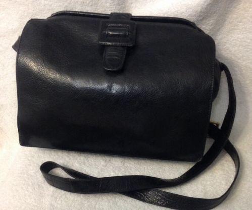 Vintage Black Doctors Bag Ebay