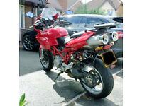 Ducati Multistrada 1000DS 2003 LOW MILES Full MOT Ducati Panniers and Rack