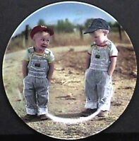 4 of the Little Farmer Plates Series Collection