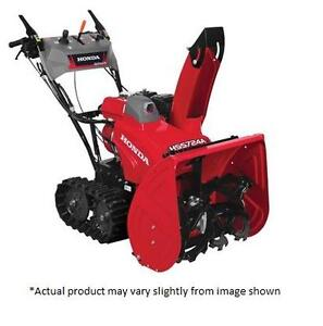 "Honda 24"" Track Propelled Snowblower"
