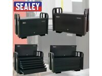 SEALEY TOOLS PTB91505 JOBSITE BOX 5 DRAWER SITE BOX HEAVY-DUTY TRUCK BOX VAN BOX