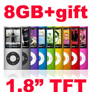 New-8GB-Slim-1-8-TFT-LCD-MP3-MP4-Player-FM-Radio-Video-Free-Gift