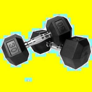 Hex rubber dumbbells  for trade-in