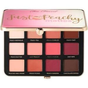 Too Faced Just  Peachy Matte palette  Brand New