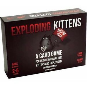 Exploding kittens NSFW Deck edition