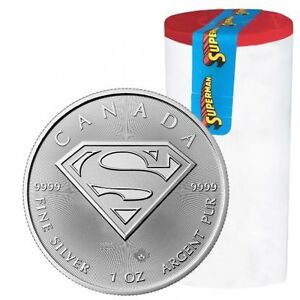 1oz silver maple/ superman s-shield